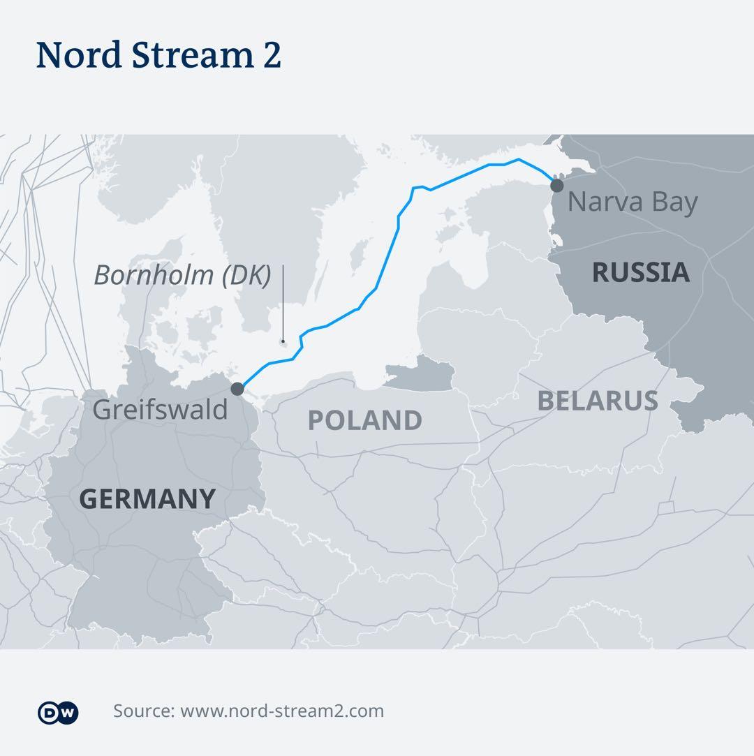 天然气管道项目惹毛美国?德官员:绝不接受美国威胁