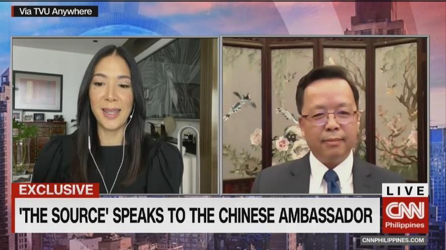 驻菲大使:美国炫耀武力干涉南海问题 意图挑衅搅局