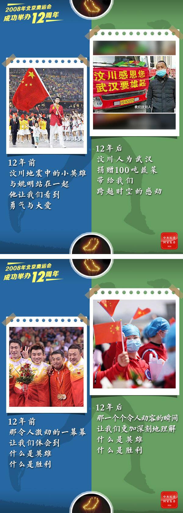 """12年12海报丨奥运""""大脚印儿"""",一直走下去!"""