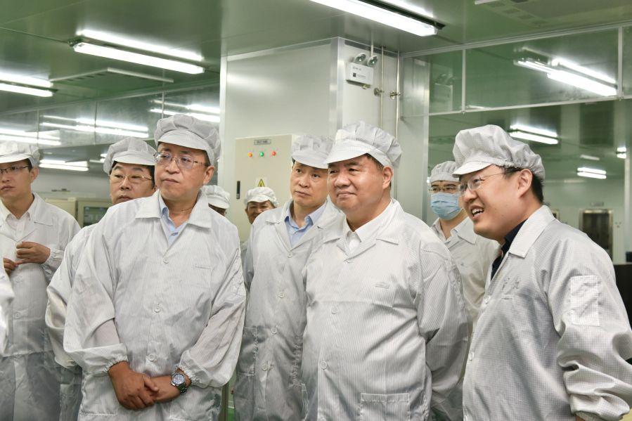 陈肇雄率队赴合肥片区成员单位调研