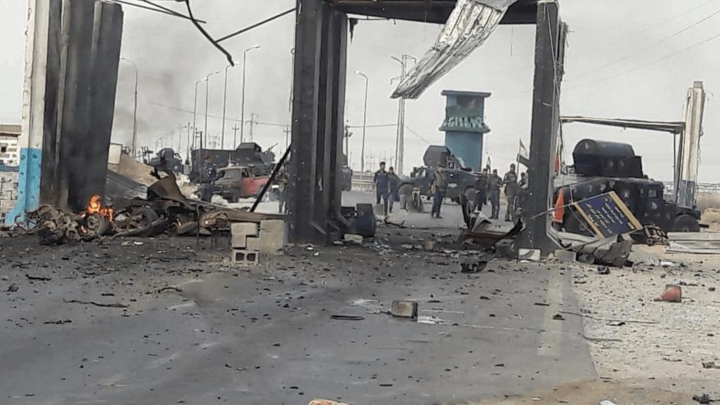 伊拉克一检查站遭自爆卡车袭击 致1死3伤