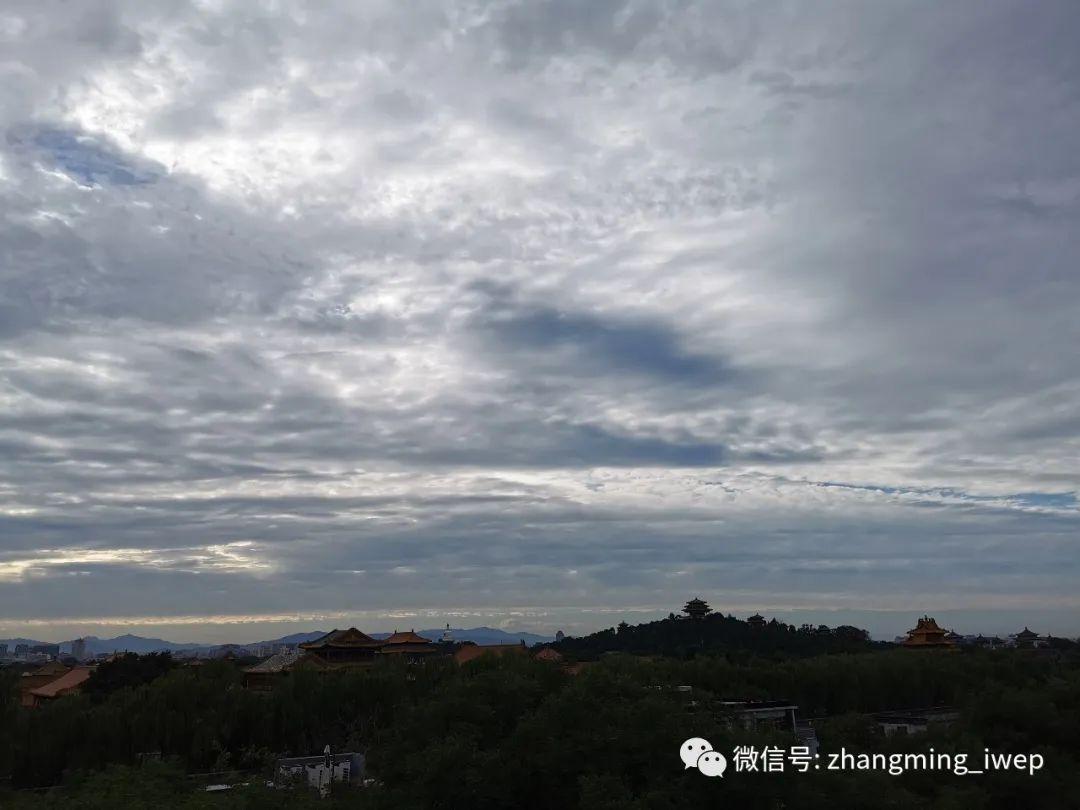 我们为什么爱北京?——偶遇完美的日落与晚霞
