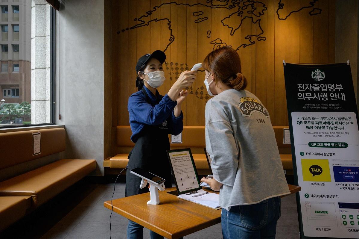 韩国新冠肺炎确诊病例累计超2万例 重症患者超百例
