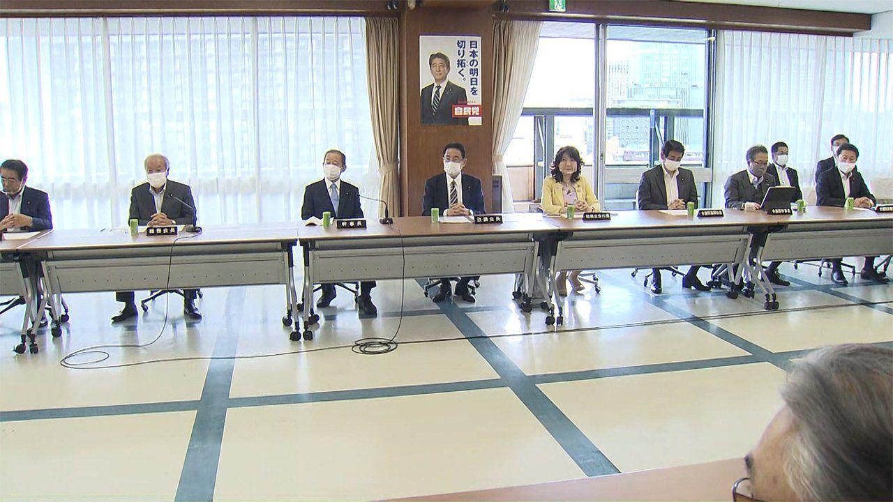 日本自民党确定新首相选举方式和日程