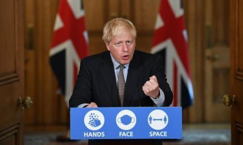 英国首相宣布将推动大规模新冠病毒检测