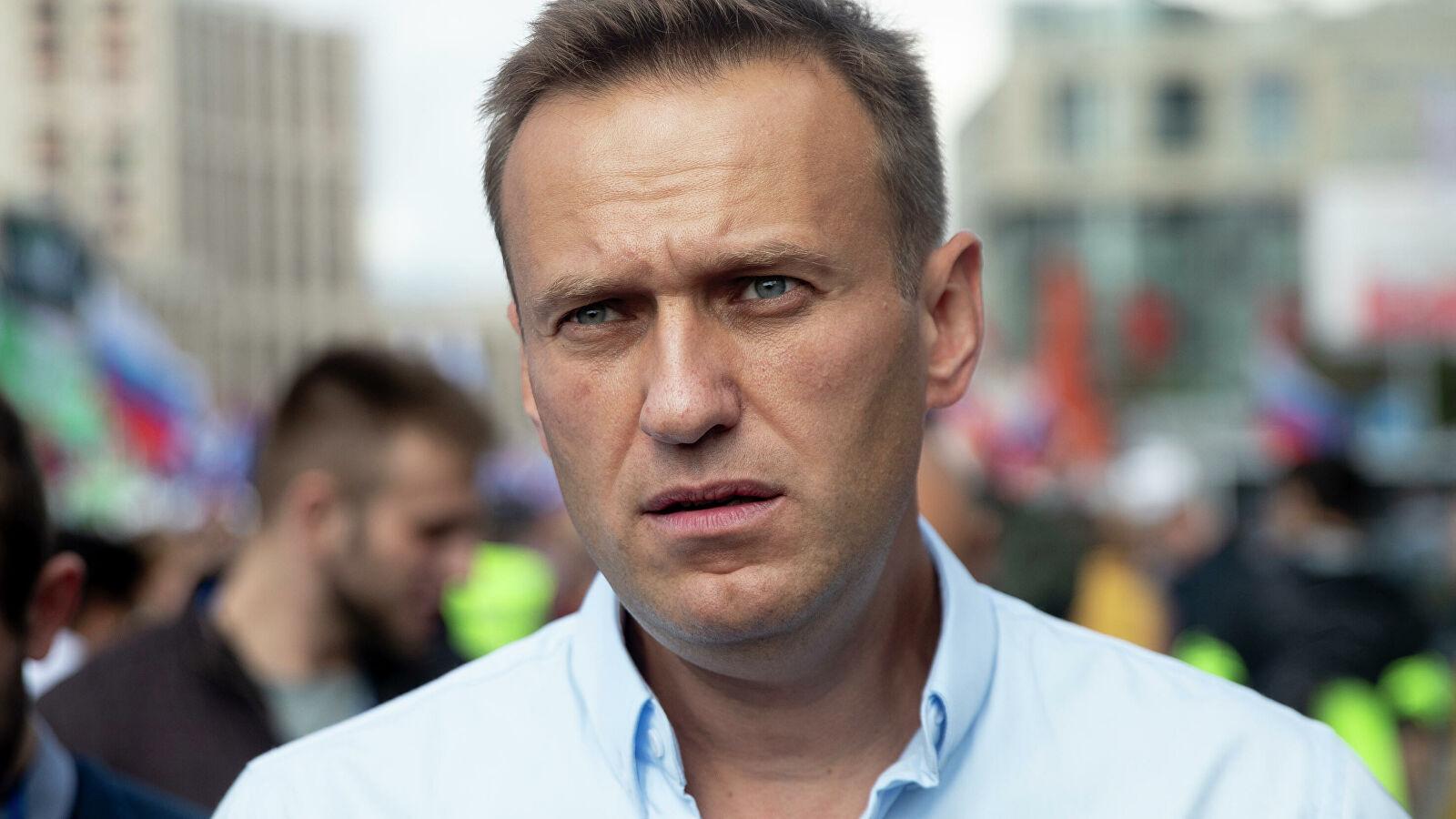 俄罗斯反对派人士阿列克谢·纳瓦利内(图源:美联社)