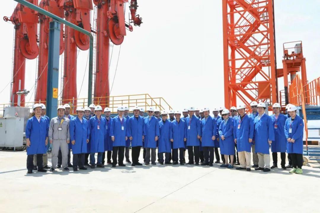 上海石油天然气交易中心组团调研浙江自贸区岱山片区