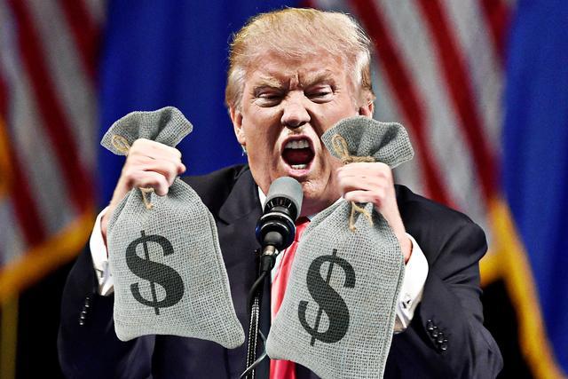 自掏腰包竞选总统?特朗普8亿竞选资金已经花光