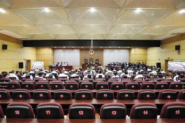 【扫黑除恶】陆山青恶势力集团案当庭宣判  41名被告人全部认罪认罚图片