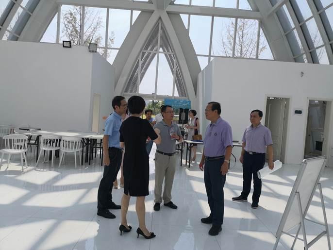 省民政厅副厅长余强到杭州调研社会事务工作图片