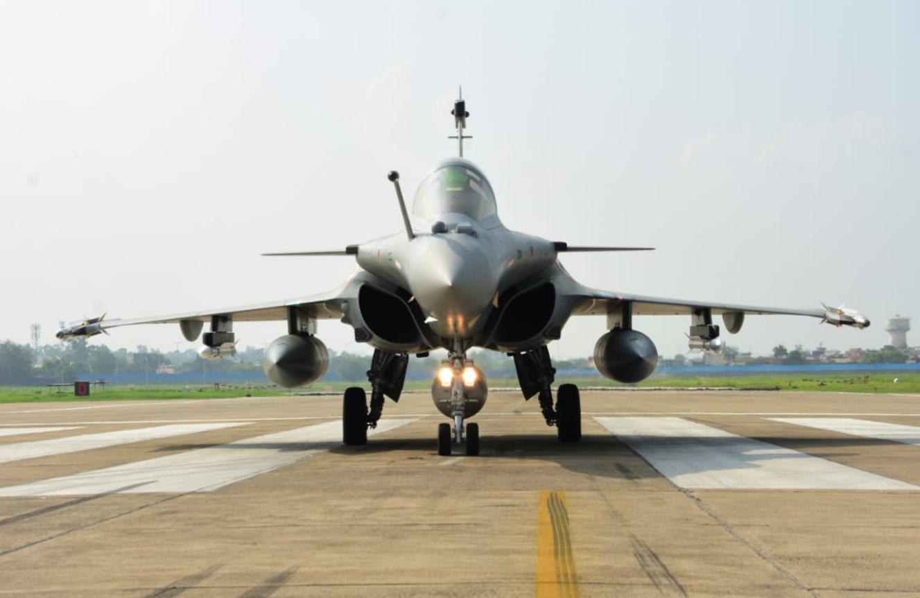 印度5架阵风战斗机正式入列 印媒又嗨了