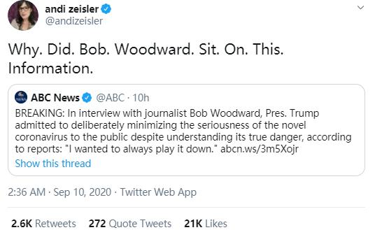 今天曝光特朗普重大丑闻的记者,竟被骂惨了