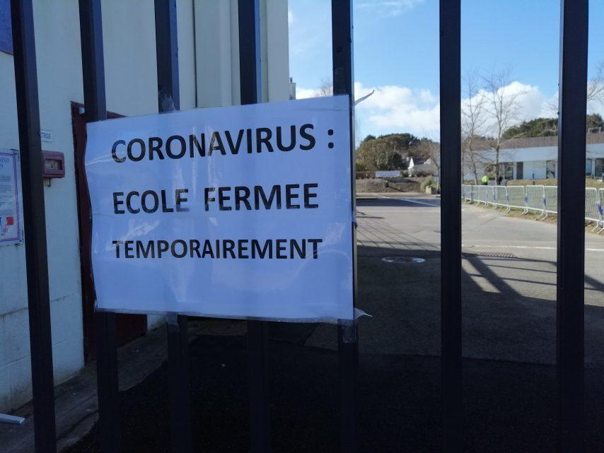 受疫情影响 法国已有32所学校和524个班级被关闭