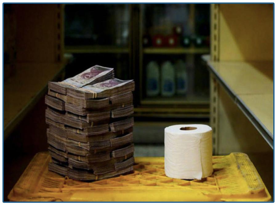 直接印钱挽救经济靠谱吗?这个国家试过了,月入百万,日子却越来越难……