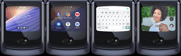 摩托罗拉首款5G折叠屏Razr 5G发布:9600元