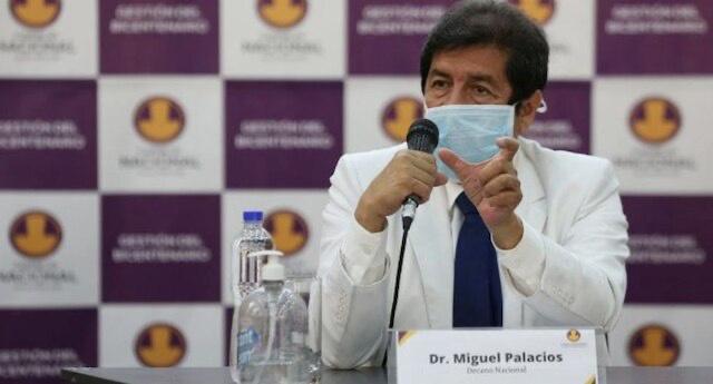 秘鲁医学院院长新冠病毒检测结果呈阳性