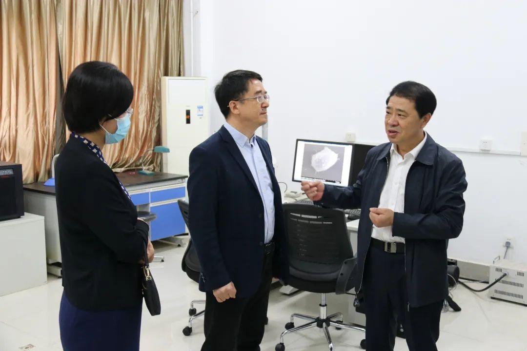 党委书记宫福清到生命科学学院调研座谈图片