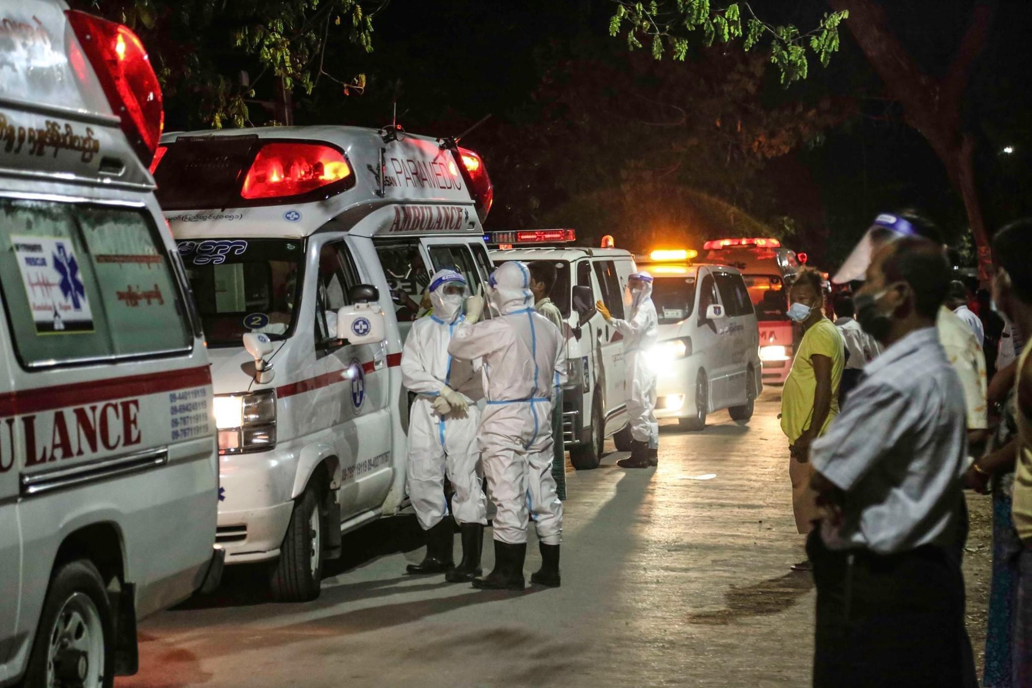 疫情进一步发展 缅甸多地提升防控措施