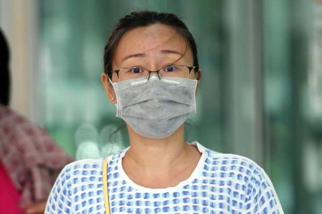 台湾女子在新加坡不戴口罩还朝保安打喷嚏,被判11周监禁