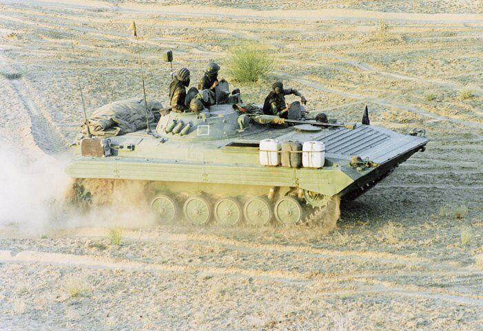 印度陆军的BMP-2/2K步兵战车