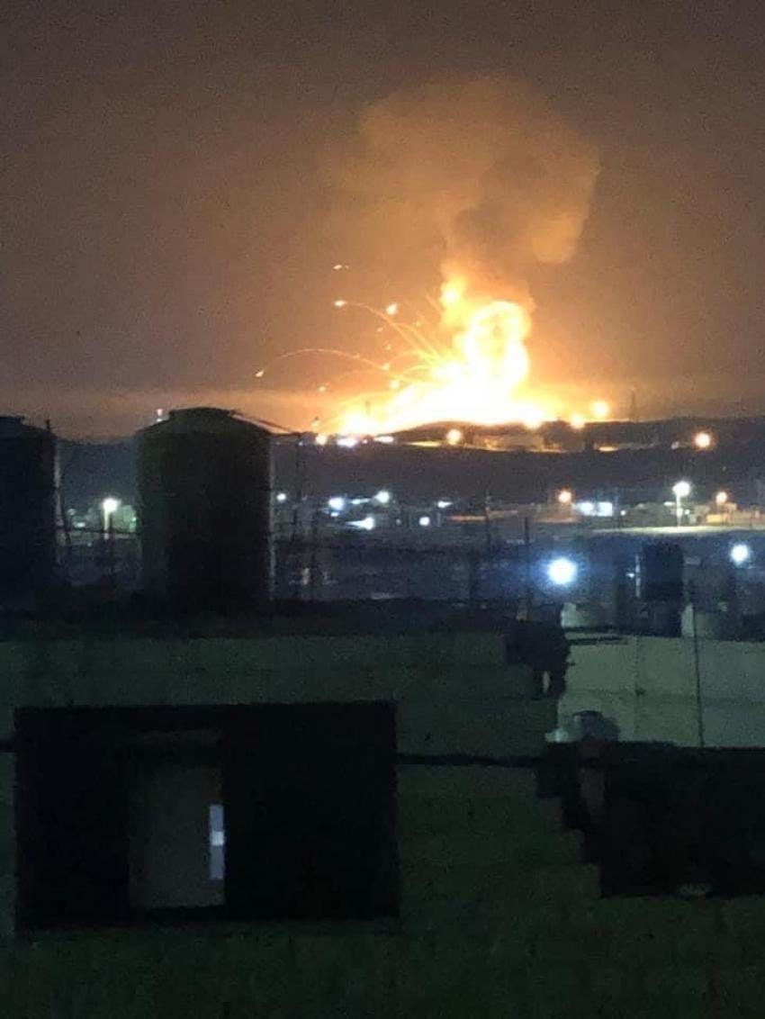 约旦一军火库发生爆炸 暂无人员伤亡报告