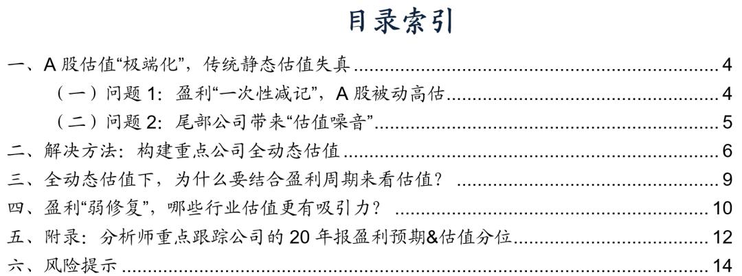 """产品说明【广发策略】重构全动态估值:寻找性价比——""""轻问轻答""""系列报告"""