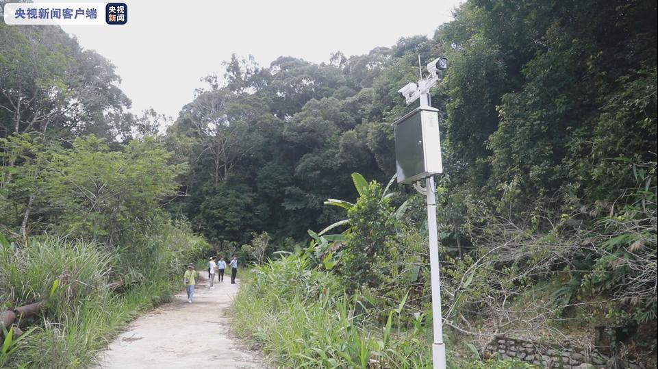 """海南热带雨林国家公园试点建设""""电子围栏"""""""