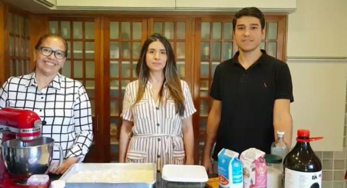 (疫情期间开业的家庭面包房 巴西环球电视网图片)