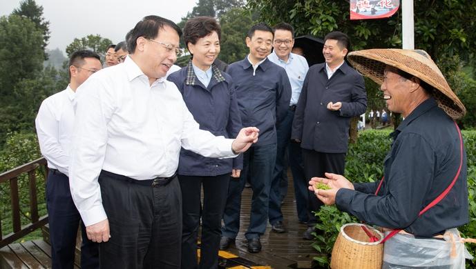 龚正市长率队在贵州看了这些,祝愿遵义乡亲实现生产美、生态美、生活美图片