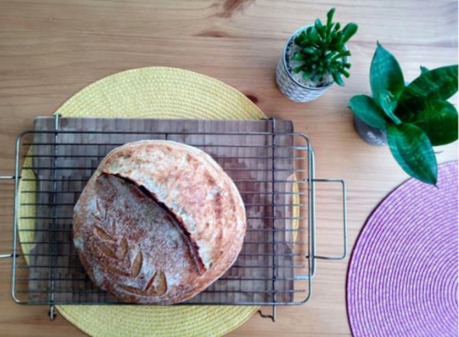 (爱德华多·奥利韦拉烤制的面包 个人提供照片)