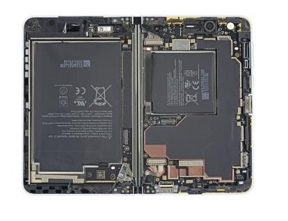 iFixit拆解Surface Duo:可修复性2分 微软官方都不好修