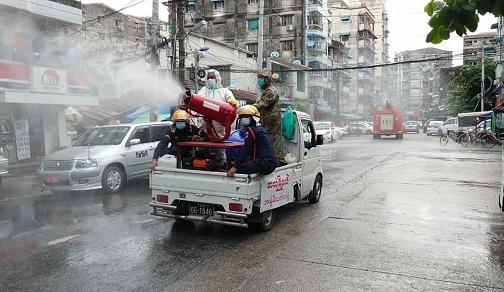缅甸累计确诊新冠肺炎病例2595例 铁路干线客运停运