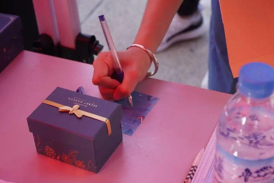 △ 音乐学院的心愿盒