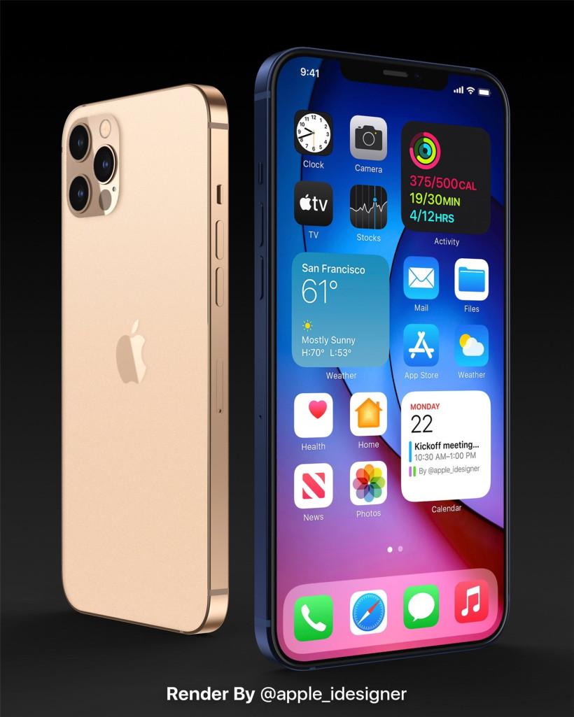 无Home键的iPhone SE?iPhone 12最新渲染图