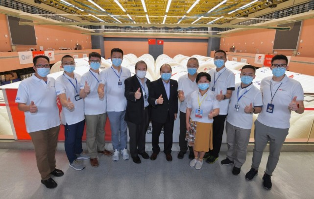 香港政务司司长:内地检测支援队忍辱负重助港抗疫 值得敬佩图片