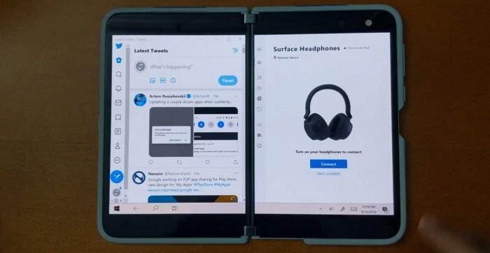 微软Surface Duo运行Windows 10会是什么样?