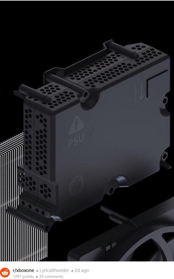 微软Xbox Series S小彩蛋:电源上的士官长头像