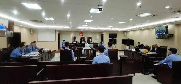 武凤呈受审。据黑龙江省高级人民法院微信公众号