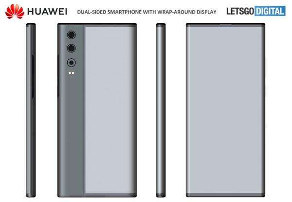 华为全新环绕屏手机专利曝光:酷似小米MIX Alpha