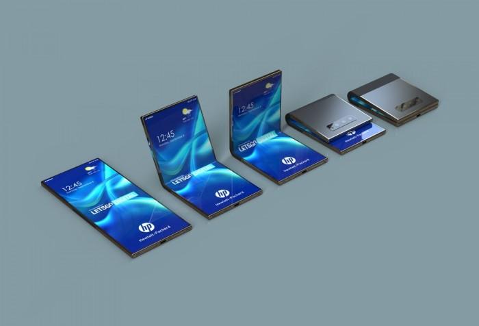 惠普积极开发可折叠设备:手机专利图曝光