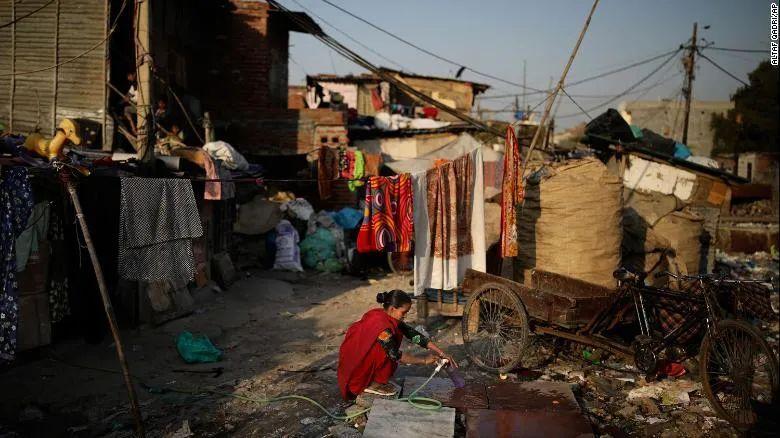 ▲印度贫民窟(美联社)