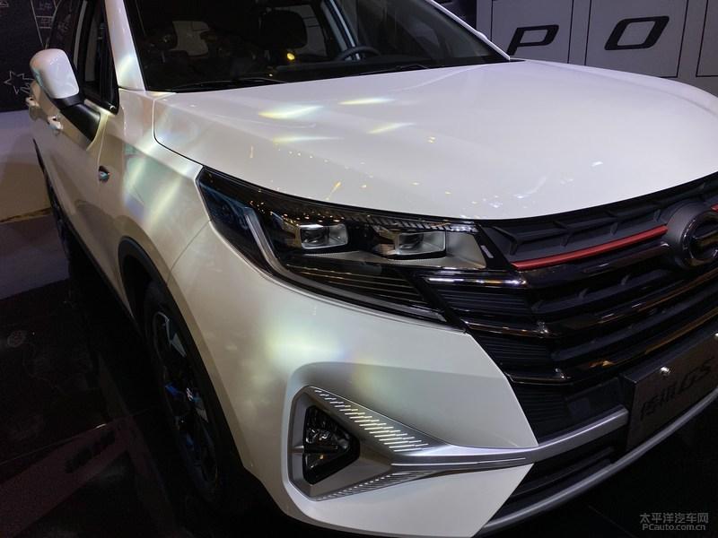 传祺GS3 POWER实车亮相 9月19日开启预售