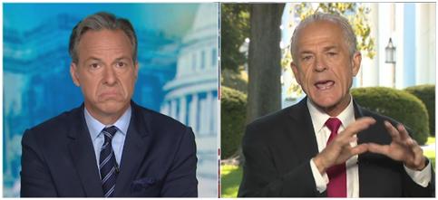 CNN主播批特朗普对美国民众不诚实 纳瓦罗当场吵起