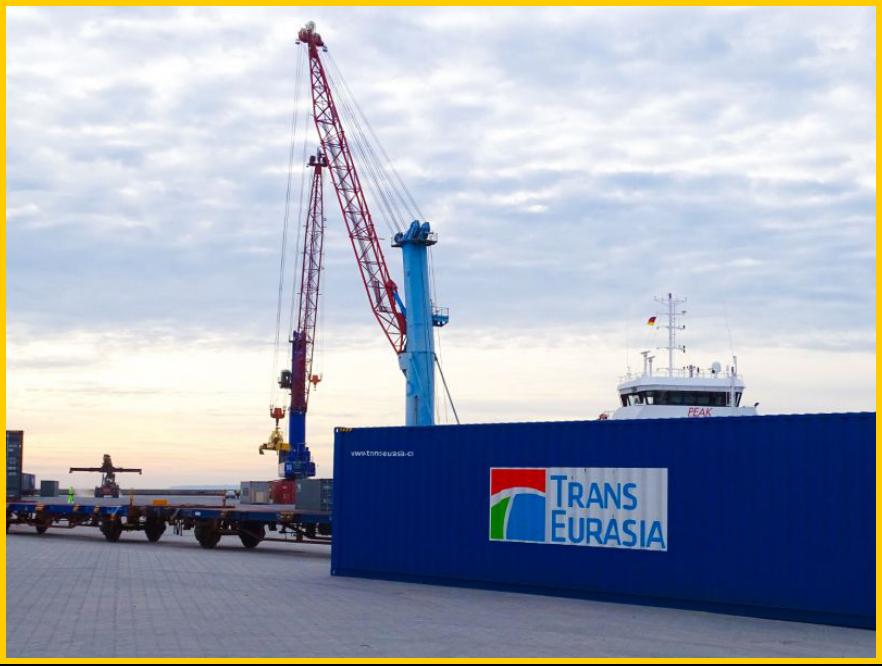 △穆克兰港是德国北部与中国铁路货运交通的枢纽(图片来源:穆克兰港官方网站)