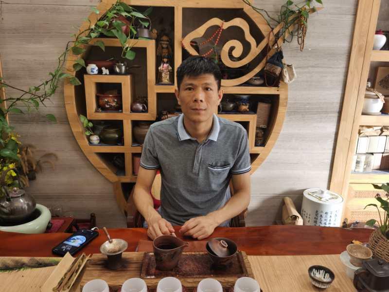 商建茶福。京城老板吴。