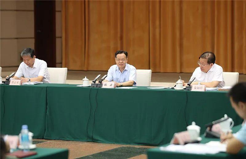 陈武主持召开部分市重大项目建设推进及经济运行分析座谈会(北片区)图片