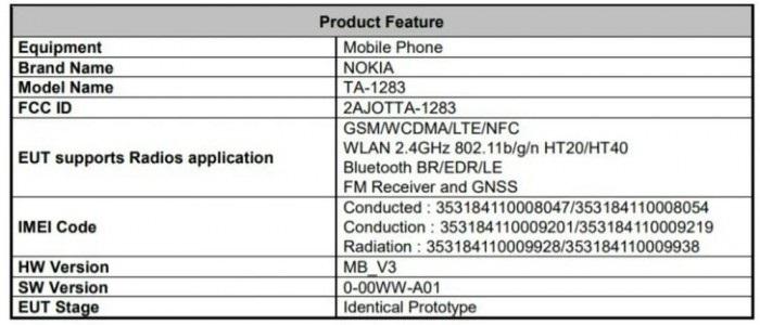 诺基亚3.4通过FCC认证:定位入门级,有望于9月22日发布