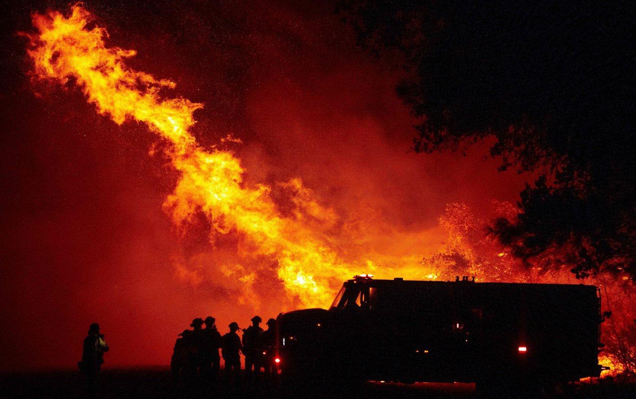 美国西海岸野火(图:Getty)