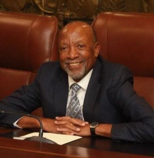 纳米比亚副总统感染新冠病毒后治愈康复图片