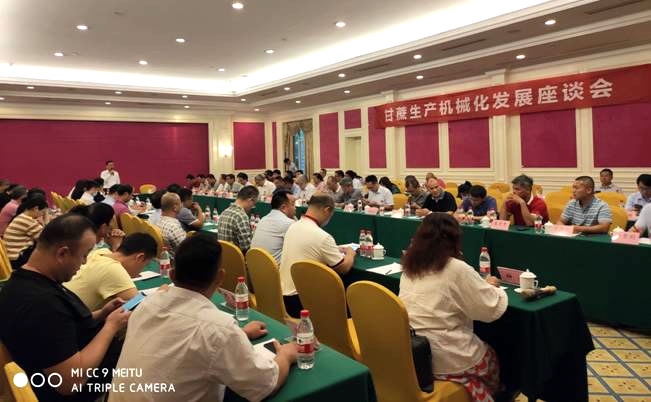 2020甘蔗机械化发展战略研讨会在芜湖举办